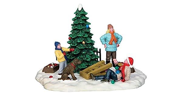 Lemax Village Collection Snow Plow Set-Up #53224