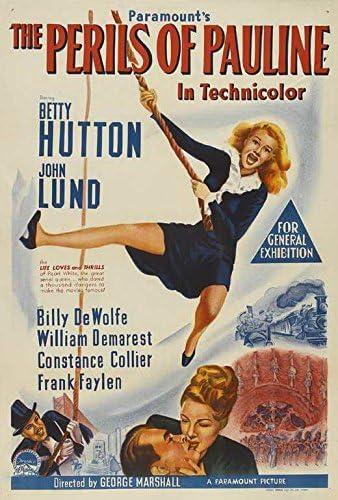 Amazon.com: The Perils of Pauline POSTER Movie (11 x 17 Inches - 28cm x  44cm) (1947): Posters & Prints