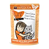 Weruva Best Feline Friend (B.F.F.) Tuna & Salmon Sweet Cheeks with Tuna & Salmon in Gravy Cat Food by, 3oz Pouch (Pack of 12)