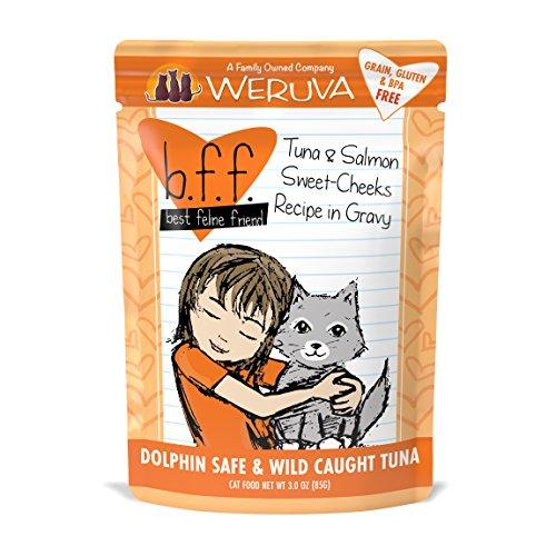 Weruva Best Feline Friend  Tuna & Salmon Sweet Cheeks with T