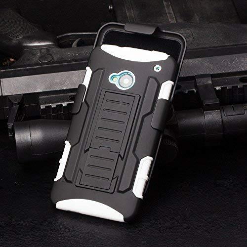 hot sale online fc353 e227b Cocomii Robot Armor HTC One M7 Case New [Heavy Duty] Premium Belt Clip  Holster Kickstand Shockproof Hard Bumper Shell [Military Defender] Full  Body ...