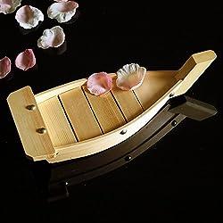 Japanese Cuisine Sushi Boats Sushi Tools Wood Handmade Simple Ship Sashimi Assorted Cold Dishes Tableware Sushi Bar