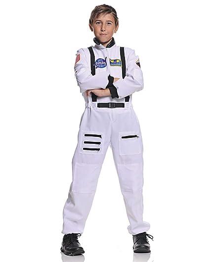 Horror-Shop Blanco NASA Traje Niño Astronauta L: Amazon.es ...