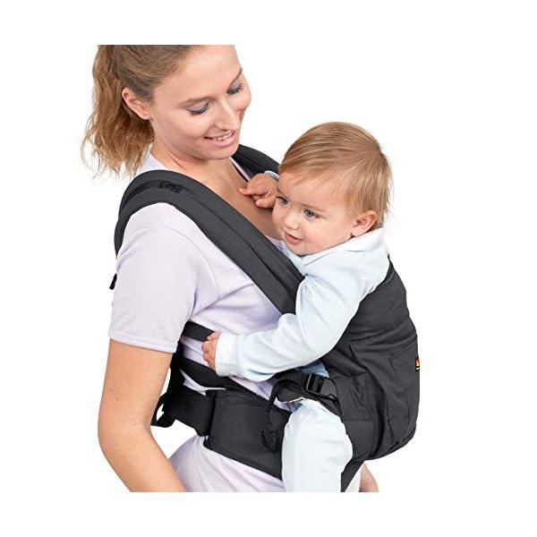 Molto Ergonomic Comfort Baby Carrier 2 in 1 3