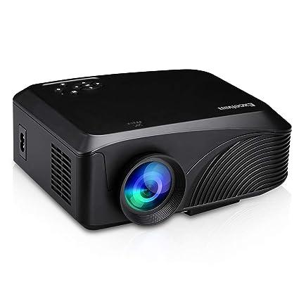 Amazon.com: Hanbaili 4K 3D HD Smart Projector 4K 3D 1080P HD ...