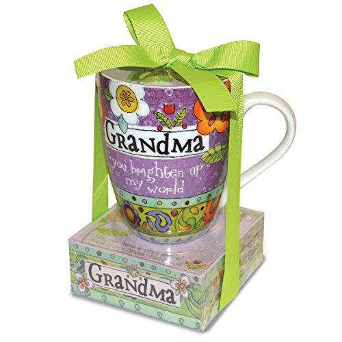 Divinity Boutique 23776 Ceramic Mug And And Memo Pad Grandma, One Size, Multicolor (Grandma Mug 1)
