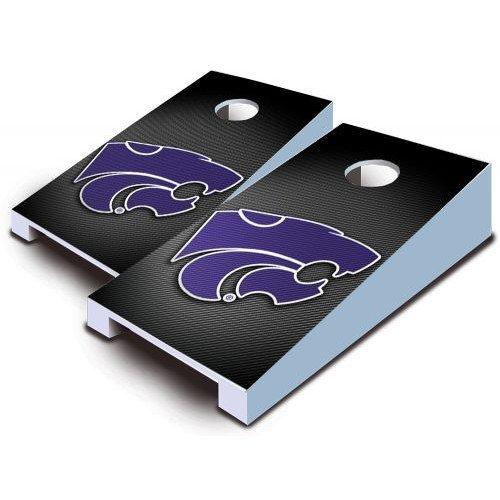 Kansas State Wildcats Tabletop Cornhole Boards Slanted Bean Bag Tailgate Toss Game Mini Miniature (Wild Sales Mini Tailgate)
