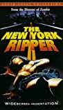 The New York Ripper VHS Tape