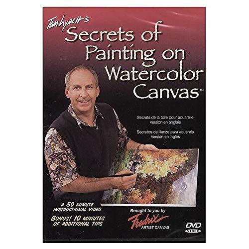 Amazon Com Fredrix Tom Lynch S Secrets Of Painting Watercolor On Canvas Dvd Tom Lynch Movies Tv