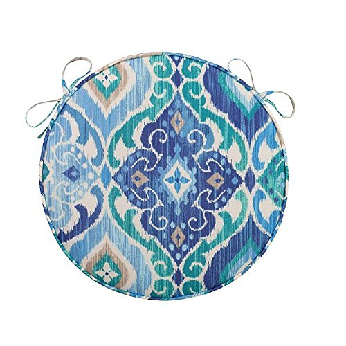 Home Improvements Blue Medallion SET OF 2 Outdoor 16