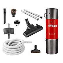 All Metal Canadian Made Top Quality Allegro Central Vacuum Hybrid System