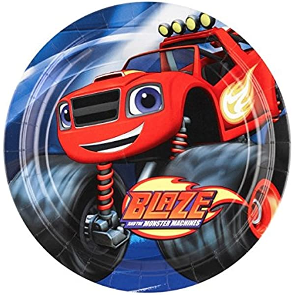 Blaze and the Monster Machines - Platos, pack de 8 unidades ...