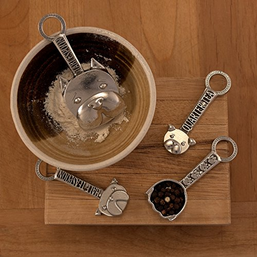Good Dog Measuring Spoons with Display Stand