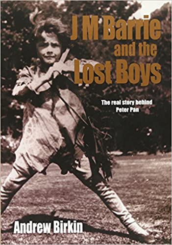 amazon j m barrie and the lost boys the real story behind peter