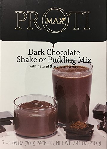 Proti Kind High Protein Diet Shake & Pudding - Low Calorie - Low Sugar - Low Carbs ( 7 servings) (Dark Chocolate) - High Protein Shake Diet