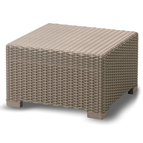 Yukon Glory YG-900 Premium Weather Resistant Outdoor Coffee Table Ottoman WIC