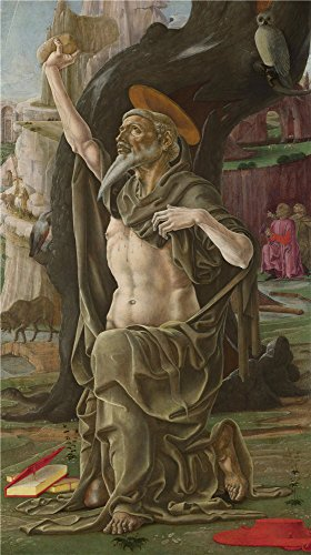 Oil Painting 'Cosimo Tura Saint Jerome ' Printing On Polyster Canvas , 30 X 54 Inch / 76 X 136 Cm ,the Best Gift For Girl Friend And Boy Friend And Home Decor And Gifts Is This Imitations Art DecorativeCanvas (Spider Man Noir Costume)