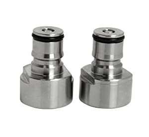 Kegco Sankey to Ball Lock Coupler Adapter Set