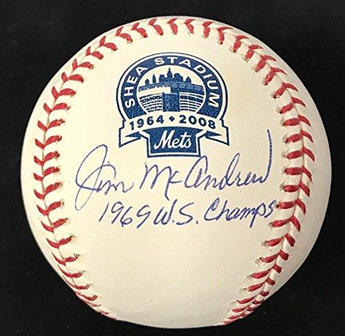 (JIM McANDREW (Mets) signed