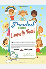 Preschool Workbook Learn to Read | A Magical Sight Words and Phonics Activity Workbook for kids ages 6-10: How to teach your Child to Read and Teach Your Child to Read in 100 Easy Lessons Paperback