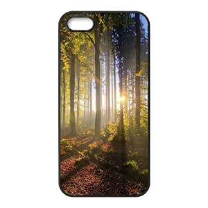 Sunshine beautiful nature scenery fashion phone case for iPhone 5s