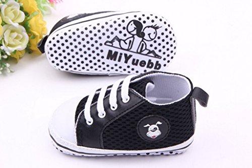 EOZY Zapatos Para Bebé Unisex Primero Paso Andar Mallas Blanco Cordones Otoño Pirmavera Longitud 13cm QT4cdIR