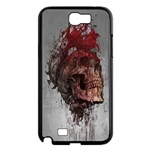 High quality skull & skeleton series protective cover For Samsung Galaxy Note 2 Case skull-ull-o52836