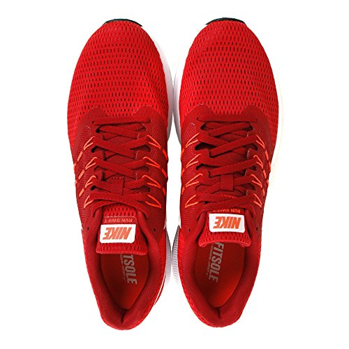 running Blk Nike 10 Chaussures Crimson Red homme de White University total Dart qwwE5X