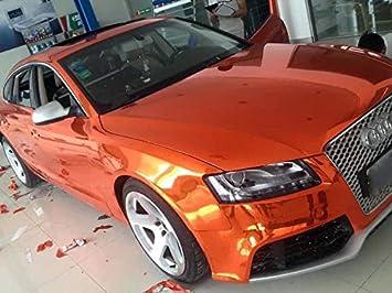 Spiegelfolie STRETCHABLE Chrom Grün für 3D Verklebung Car Wrapping Chromfolie
