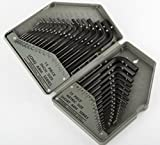 Allen Wrench Hex Key Set 30PC SAE METRIC Long Short Arm with Case, New