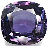 Simulated Alexandrite Cushion Unset Loose Gem 18mm фото