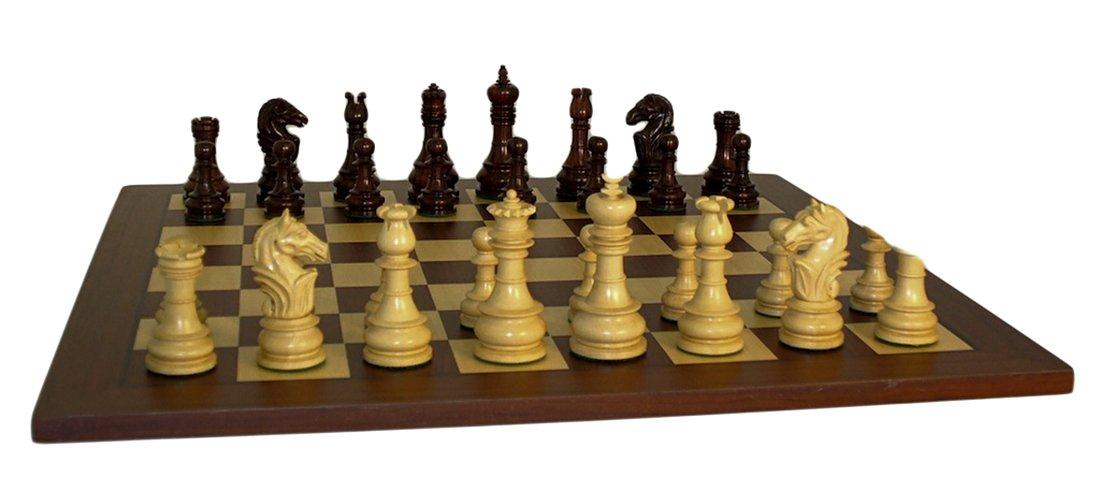 人気を誇る Rosewood Board Lotus Triple-Weighted Rosewood Chess Set on Rosewood Triple-Weighted Board B00APKMQ9I, ルベツムラ:94c14e1c --- arianechie.dominiotemporario.com