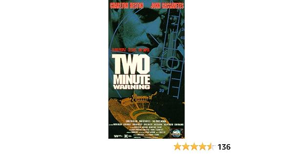 Two-Minute Warning [USA] [VHS]: Amazon.es: Charlton Heston ...
