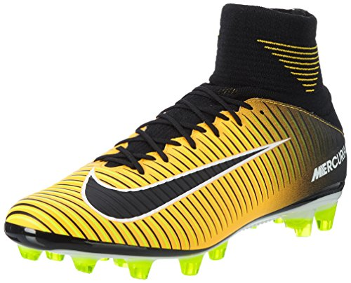 Laser de Nike Black Homme Volt Mercurial Orange Veloce White Pro DF Football Orange AG III Chaussures P0PzO