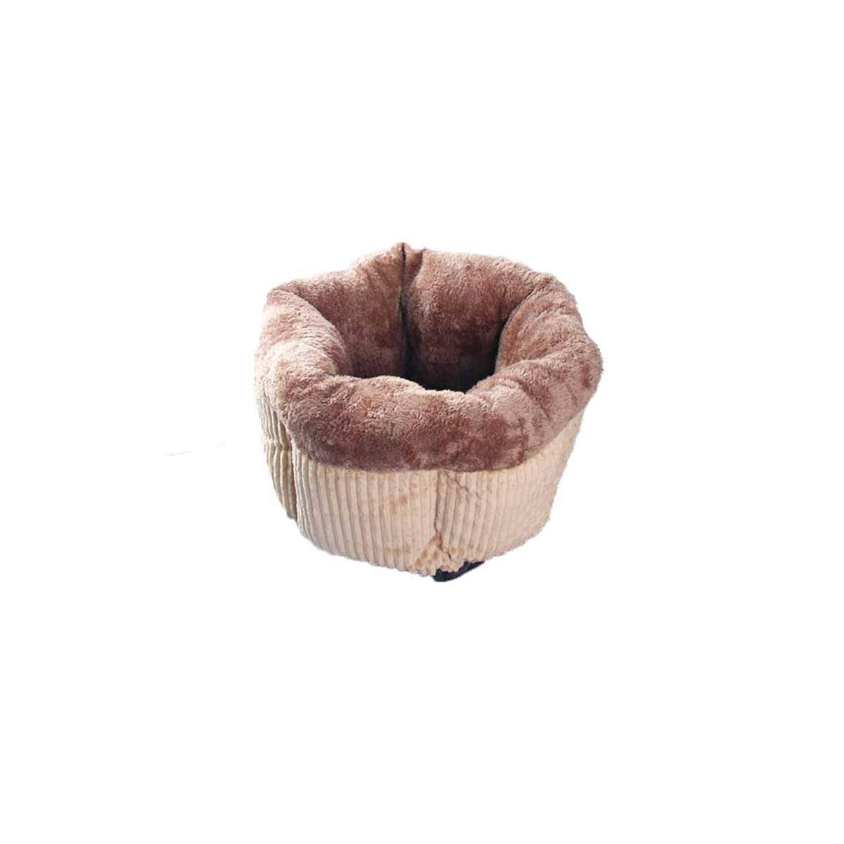 Kennel, Small Dog, General Season, Warm Winter, Teddy, Washable, Pet Cat, Small and Medium Dog, Dog Bed, Dog House Mat, Autumn and Winter, Pet Nest (color   bluee, Size   M)