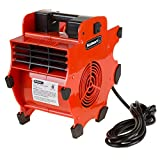 Stalwart Portable Adjustable Industrial Fan Blower- 3 Speed Heavy Duty Mechanics Floor and Carpet Dryer By