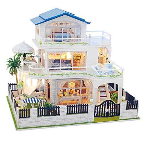 Binory Vancouver Summer Impression 3D Wooden DIY Miniature for sale  Delivered anywhere in USA