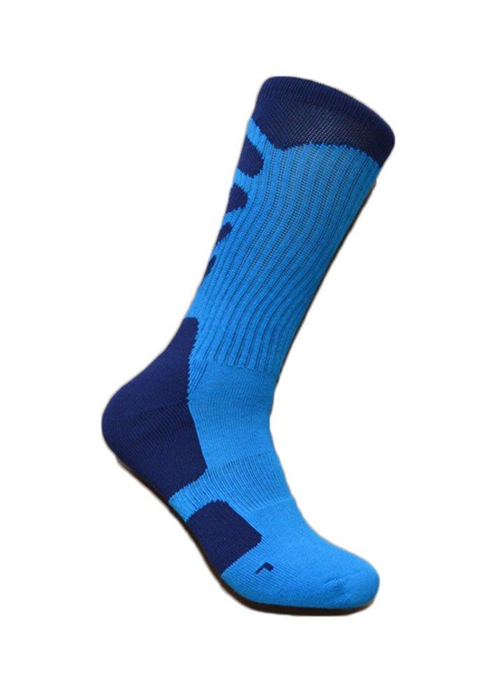 Kalily BULK Unisex Dri-fit Elite Socks - Pack of 3 Pairs (6 pcs) (Black, Medium) Risen Tech