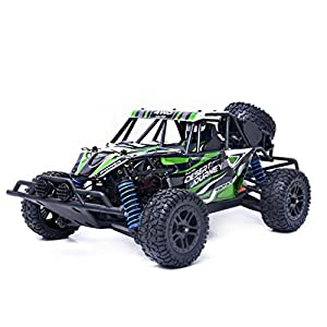 E-SCENERY 1/18 2.4GHZ 4WD 4CH RC Off-road Racing Cars, High Speed Radio Remote Control Truck Vehicle With Four Wheel Shock Absorber System, Rechargeable Battery