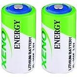 Xeno Energy XL-050F 1/2 AA 3.6V Lithium Batteries X 2