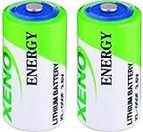 Xeno Energy XL-050F 1/2 AA 3.6V Lithium Batteries (2 Batteries)