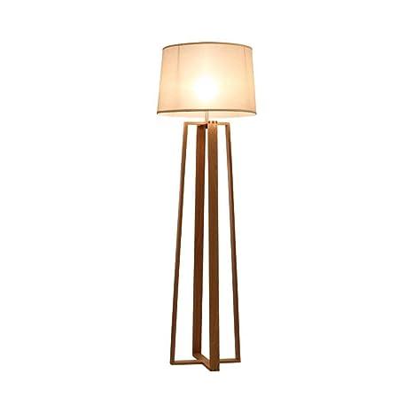 Lámpara de pie moderna, marco cuadrado pie de la lámpara y ...