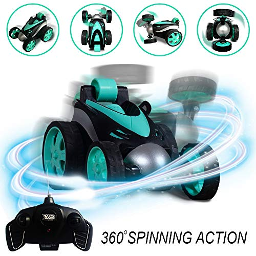 RC Vehicle Four Wheel RC Stunt Car, 360 Degree Rolling Rotating Rotation Only $12.79