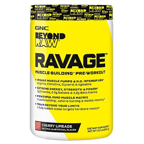 GNC Beyond RAW RAVAGE - Cherry Limeade