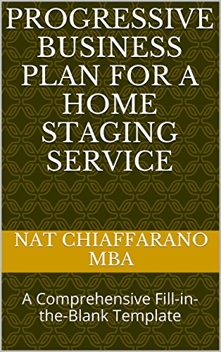 Amazon Progressive Business Plan For A Home Staging Service A