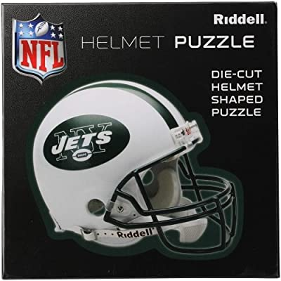 New York Jets Team Helmet Puzzle: Toys & Games