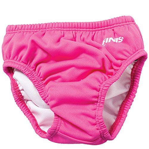 (FINIS Swim Solid Diaper, Pink, X-Small)