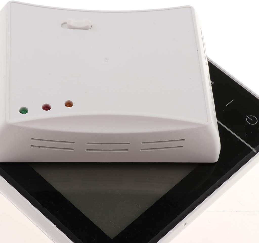 Homyl HY01RF RF Inal/ámbrico Termostato de Pared de Caldera de Gas Calefacci/ón Control Remoto Blanco
