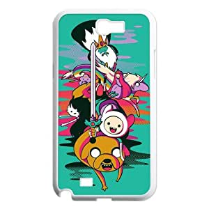 Funny Cartoon Adventure Time Hard Plastic Back Protective Case for Samsung Galaxy Note2 N7100 FC-6