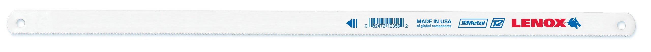 LENOX Tools Hacksaw Blade, 12-inch, 14 TPI, 10-Pack (20143V214HE) by Lenox Tools